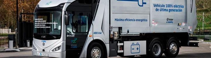 FCC Medio Ambiente e Irízar presentan la primera plataforma de e-movilidad para servicios urbanos