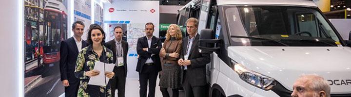 Presentado el primer minibús eléctrico avanzado de fabricación catalana que dará servicio a Barcelona