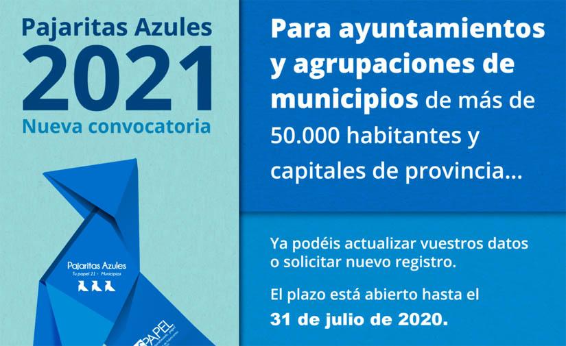 Pajaritas Azules abre su convocatoria 2021