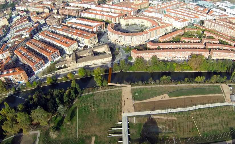 Pamplona invierte 2,3 millones de euros en la urbanización de la segunda fase del parque de Aranzadi