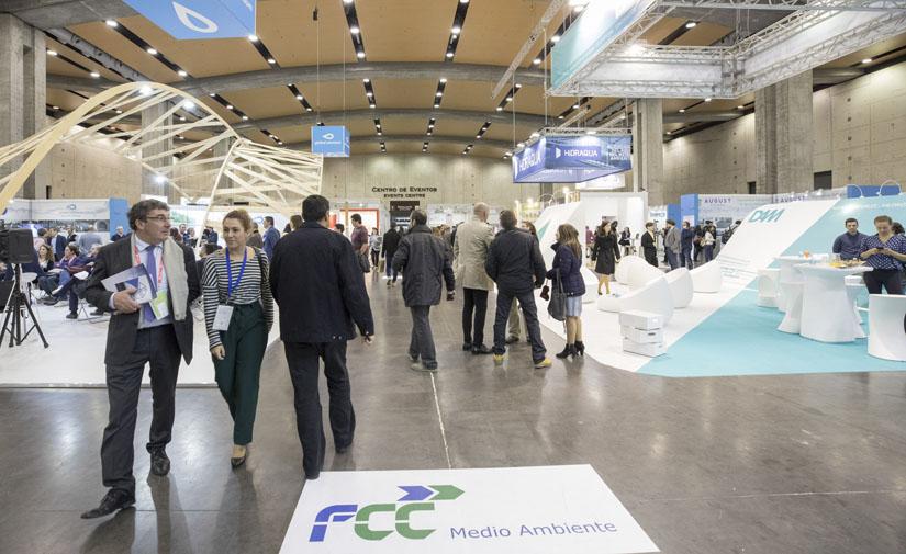 Papeleras con energía solar, contenedores con sensores de olor o una 'Estación de Servicio' para coches eléctricos, en Ecofira y Efiaqua 2019