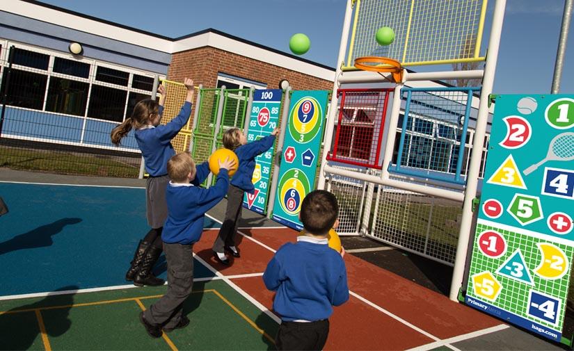 Primary Arena, pistas multideportivas diseñadas por Hags para ofrecen una amplia gama de beneficios educativos
