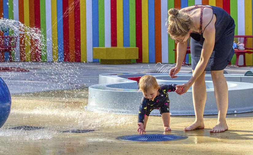 Puddles, la diversión acuática que desarrolla capacidades cognitivas, físicas y sociales