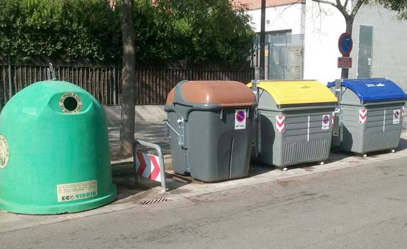Puesta en marcha anticipada de más de 1.600 nuevos contenedores de recogida selectiva en la Comunidad Valenciana