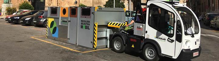 La recogida selectiva en Palma llega al 25% en los meses de mayo y junio