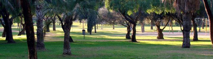 Sevilla comienza la segunda fase de la instalación del riego automático en el Parque Amate