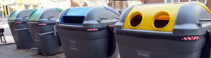 Alcalá de Henares ha renovado el 100% de los contenedores de basura de todos los barrios la ciudad, un total de 2700