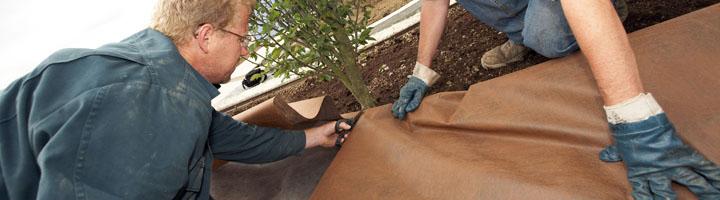 Projar distribuye a nivel nacional una malla que evita el crecimiento de malas hierbas