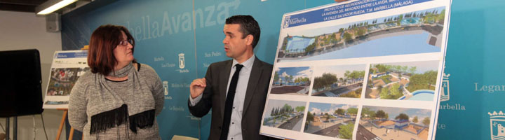 Marbella inicia los trabajos para crear un espacio urbano abierto y moderno en el entorno de la avenida del Mercado