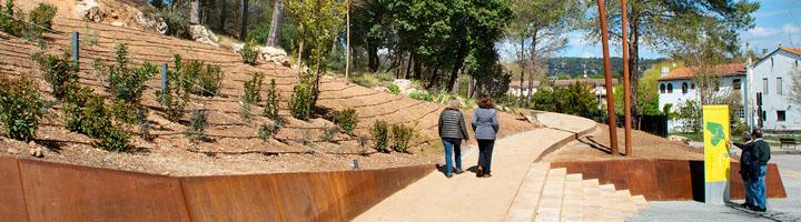 El parque de la Costeta de Begues se incorpora a la red de parques metropolitanos de Barcelona