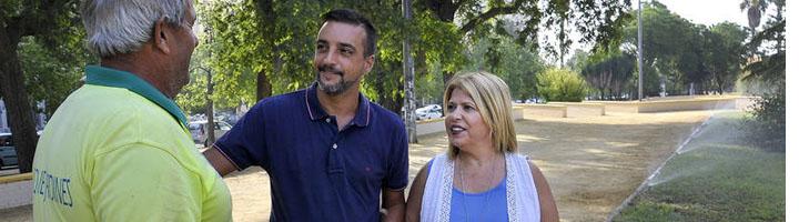 Jerez anuncia la licitación del contrato del servicio de mantenimiento de zonas verdes