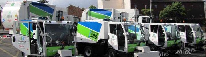 EMULSA incorpora sus dos primeros camiones de residuos con motores de gas natural