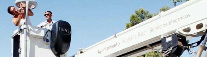 Alcalá la Real ejecuta un proyecto de mejora del alumbrado público