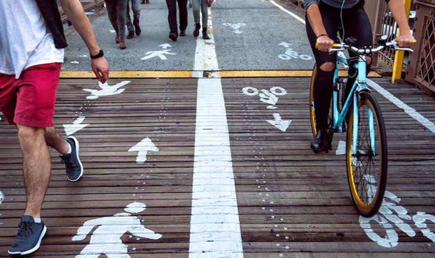 Rebajar las emisiones urbanas es tan fácil como ir en bicicleta