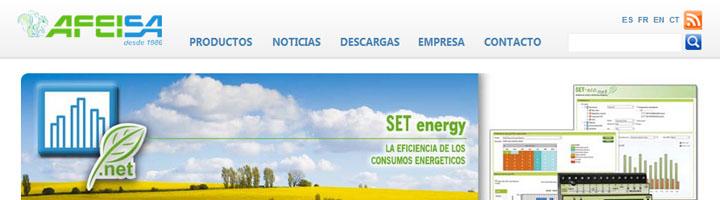 La eficiencia energética y el concepto Smart City en la web de Afeisa