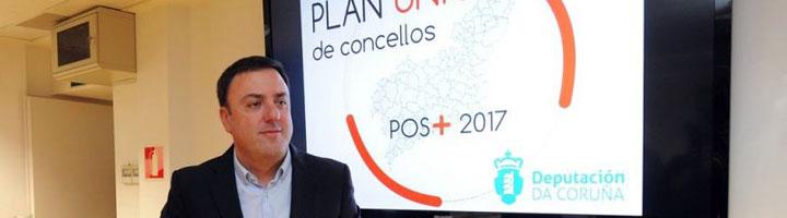 La Diputación de A Coruña invierte 3 millones de euros en la renovación del alumbrado público de 21 ayuntamientos de la provincia