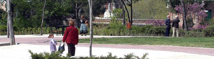 Comienzan las obras de acondicionamiento del parque Arriaga de Ciudad Lineal