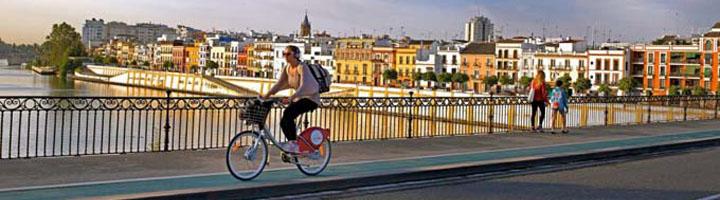 Sevilla presenta proyectos por más de un millón de euros para mejorar la movilidad en bici