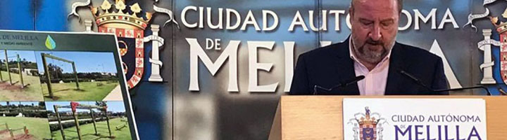 Melilla culmina las obras de la nueva zona de gimnasia del Parque Forestal