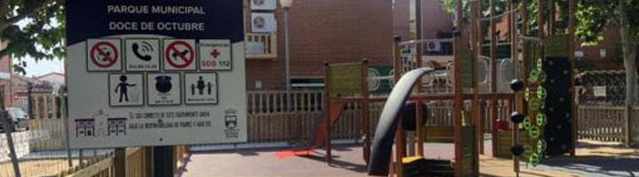 San Martín de la Vega finaliza los trabajos de remodelación del parque infantil Doce de Octubre