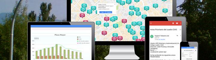 AFEISA mejora su plataforma para la telegestión del alumbrado público