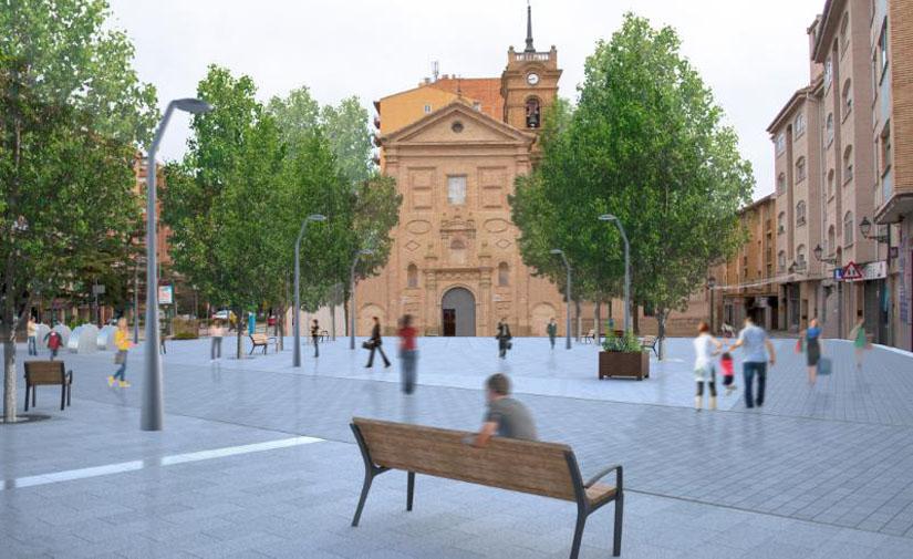 Salen a licitación las obras pendientes de reurbanización del Coso Bajo en Huesca