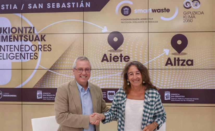 San Sebastián contará con 170 nuevos contenedores inteligentes