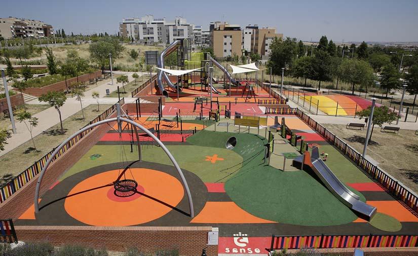 San Sebastián de los Reyes abre al público los parques inclusivos de Dehesa Vieja y Tempranales