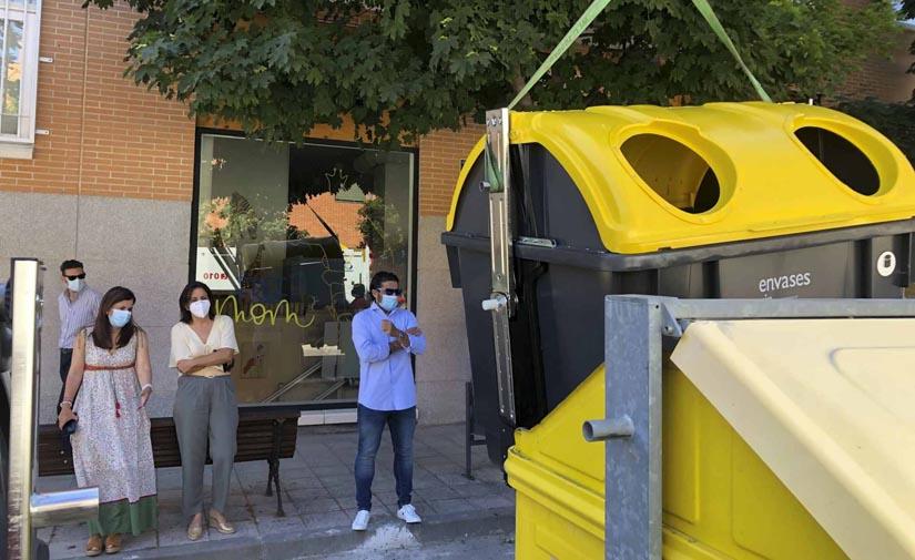 San Sebastián de los Reyes ha renovado más de 2.000 contenedores de residuos desde 2019