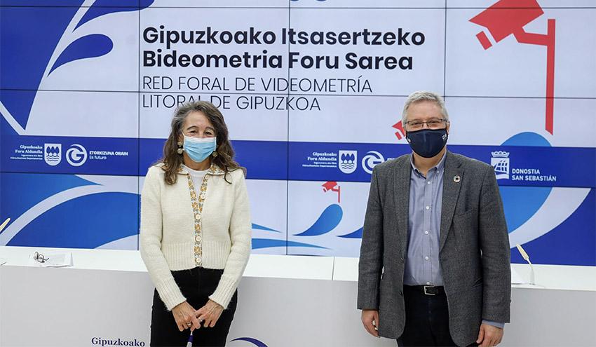 San Sebastián se incorpora al sistema de videometría de Gipuzkoa para medir los efectos del cambio climático en el litoral