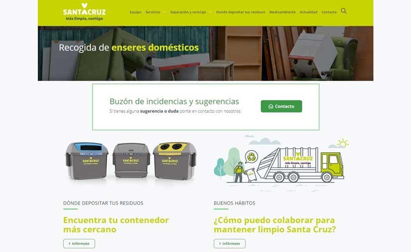 Santa Cruz de Tenerife estrena un nuevo buscador para localizar el contenedor más cercano