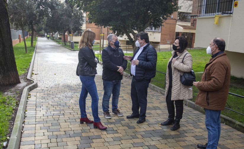 Santa Marta, en Huelva, contará con un nuevo parque infantil, un circuito biosaludable y una plaza pública