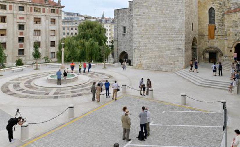 Santander continua las mejoras del entorno de la Catedral