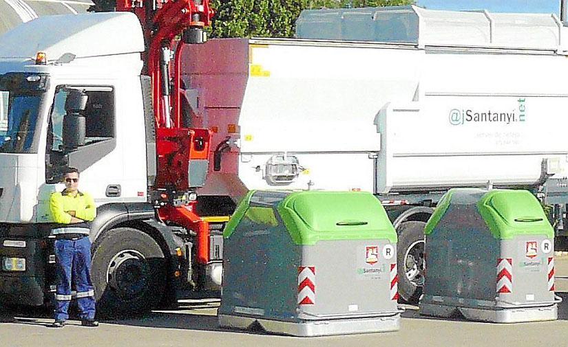 Santanyí mejorará el servicio de recogida de residuos y el de limpieza de caminos
