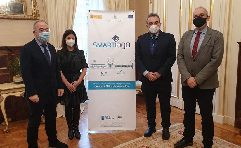 Santiago pone en marcha un piloto pionero para el control de residuos a través de contenedores inteligentes