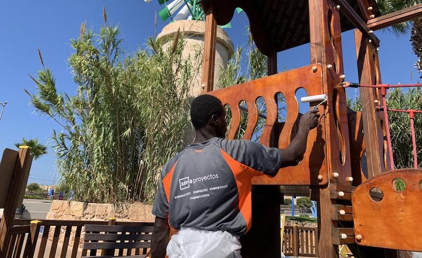 Savia Proyectos, pionera en la implantación de un nuevo sistema de desinfección de parques infantiles en Baleares