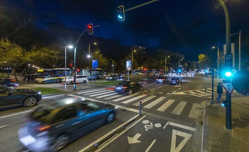 Sensores de fibra óptica para monitorizar el tráfico rodado de Pamplona