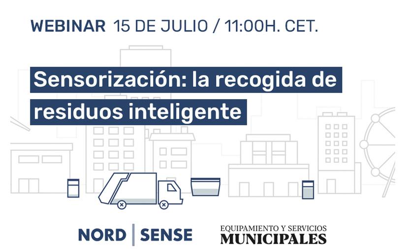 Sensorización para una recogida de residuos inteligente, a debate el próximo 15 de julio