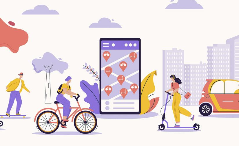 Servicios de movilidad compartida para una ciudad más sostenible