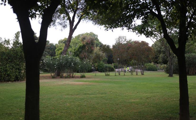 Sevilla ampliará el sistema de riego automático del Parque de los Príncipes