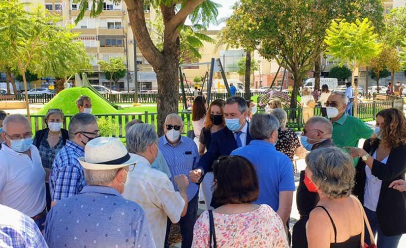 Sevilla concluye la transformación de la Plaza del Olivo en la Macarena tras una inversión de 861.000 euros