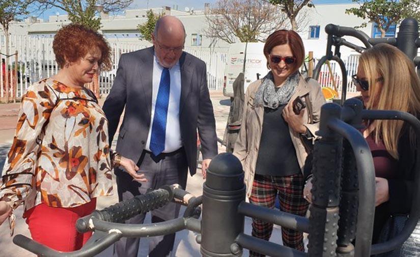 Sevilla construirá una amplia zona de juegos infantiles en el parque de la calle Periodista Juan Tribuna en Sevilla Este