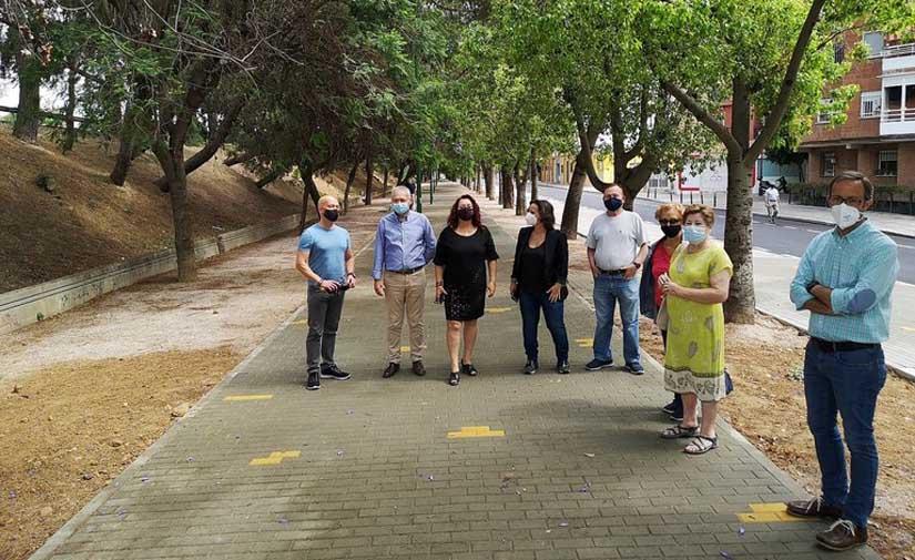 Sevilla contrata la siguiente fase de la Ronda de Tejares tras las obras de reurbanización y el colector de Emasesa