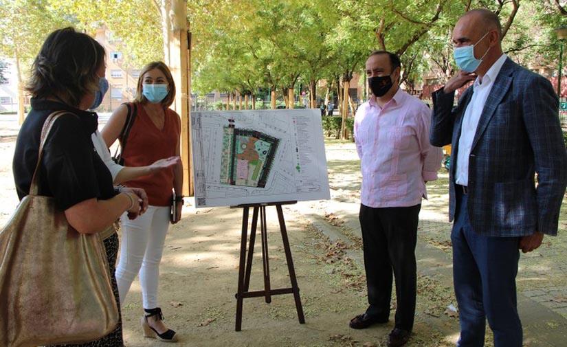 Sevilla inicia la transformación y mejora integral del Parque Blanco White de Nervión