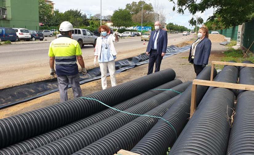 Sevilla inicia las obras para la implantación de un sistema de drenaje sostenible para las aguas pluviales