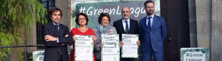 La primera #GreenLeague instalará 27 puntos de recogida de RAEE en empresas e instituciones de Sevilla