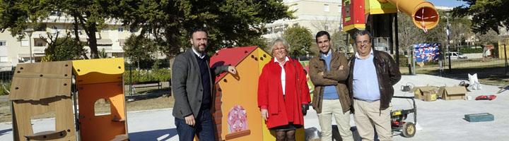 Málaga invierte 134.000 euros en un nuevo parque infantil inspirado en los cuentos tradicionales
