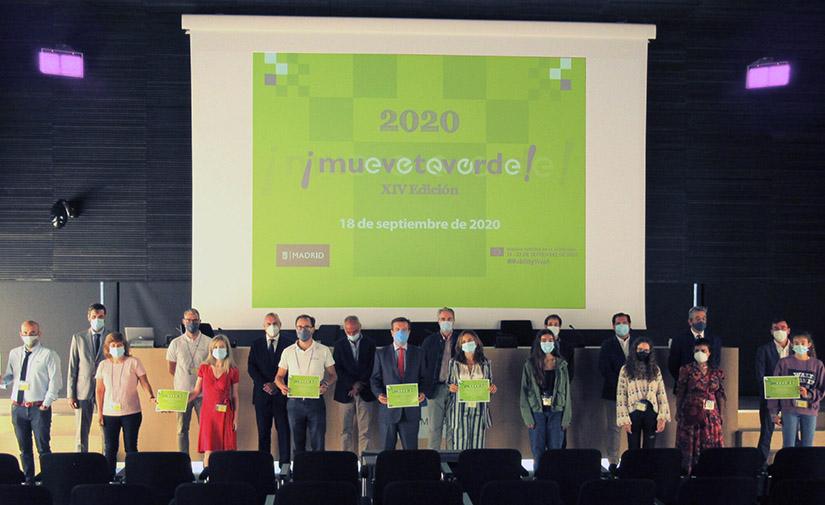 Siete iniciativas de movilidad sostenible, galardonadas en los premios Muévete Verde 2020 del Ayuntamiento de Madrid