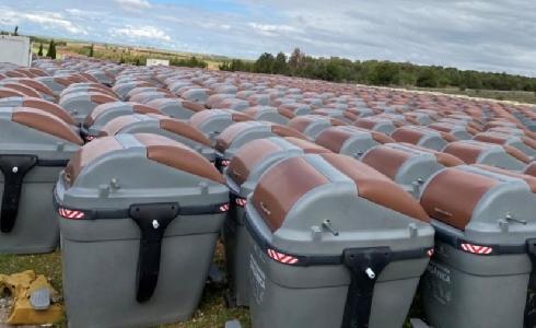 88 contenedores de tapa marrón para basura orgánica a partir del mes de mayo en Alcázar de San Juan