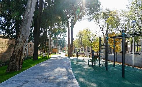 Abre al público el nuevo parque Bravo Murillo promovido por Canal de Isabel II